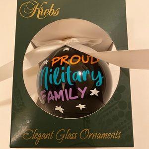 Krebs German Glass Christmas Ornament